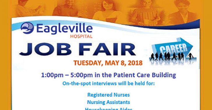 Eagleville Hospital Career Fair