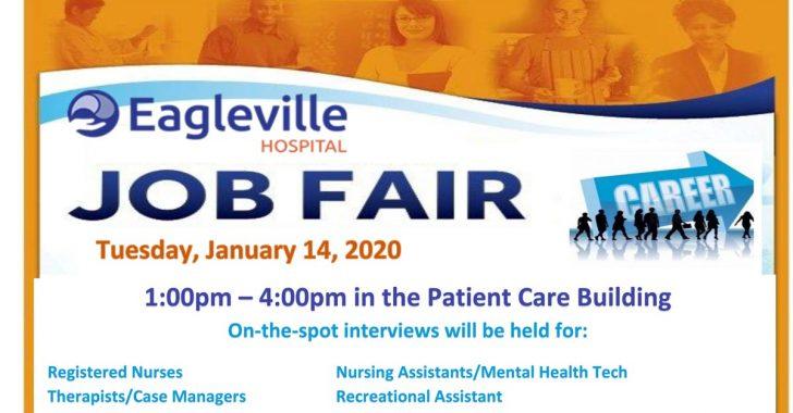 Eagleville Hospital Job Fair