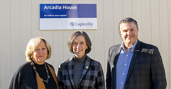Eagleville Hospital and Montgomery County Department of Human Services  Host Dedication Ceremony to Celebrate Opening of the Arcadia House