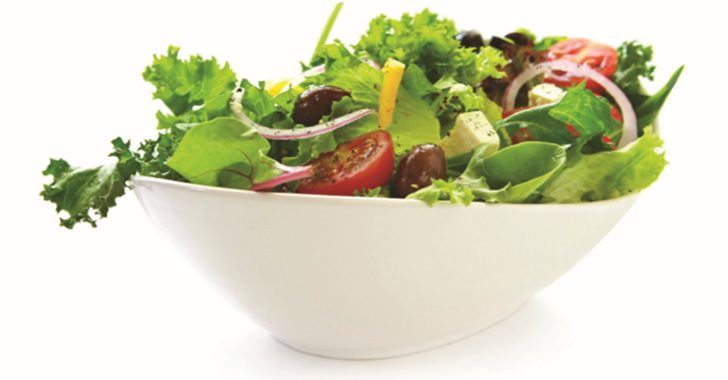 Eat Right  –  Color Your Plate with Salad